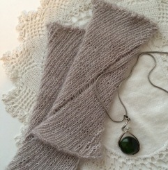 2- A Knitted Silk Cuff